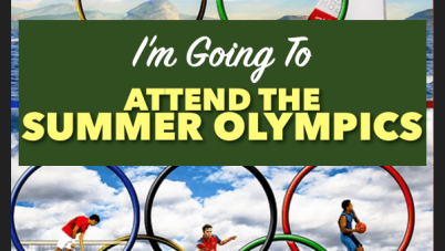 I'm Going To Attend The Summer Olympics