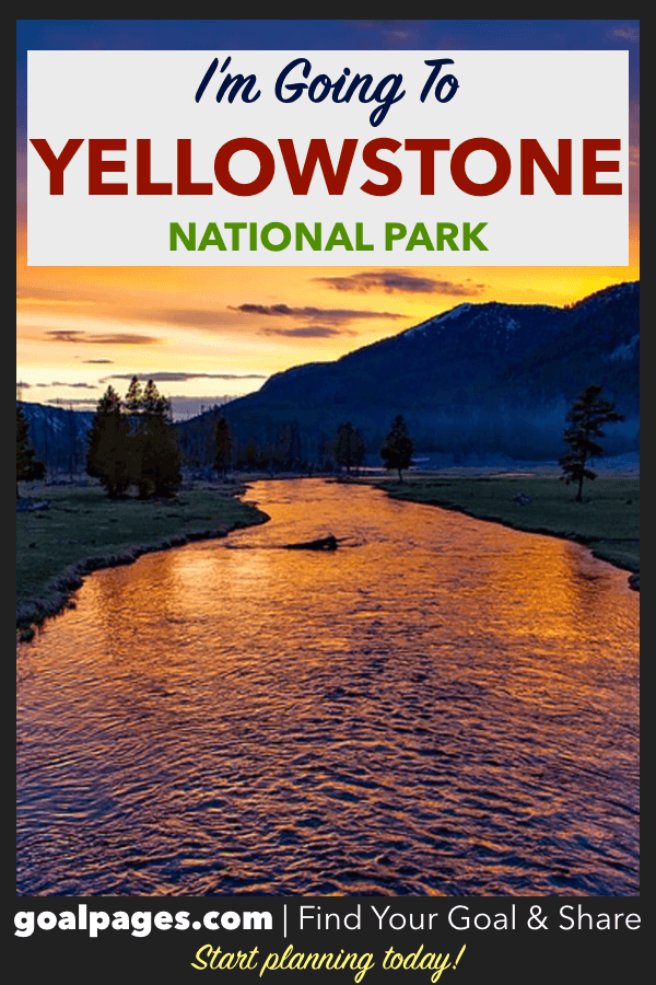 I'm Going To Going To Yellowstone