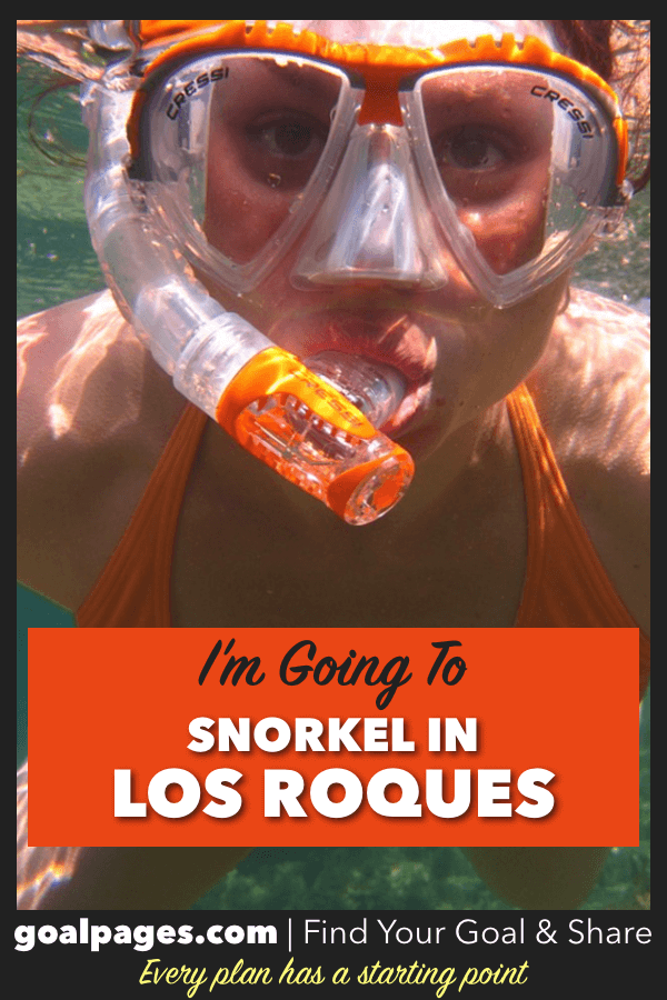 I'm Going To Snorkel In Los Roques