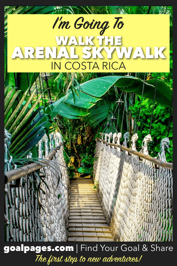 I'm Going To Skywalk In Costa Rica