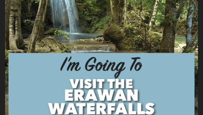 visit the erawan waterfalls